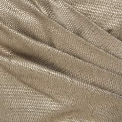 Matthew Williamson Gold Jacquard Corseted Bodice Embellished Dress S
