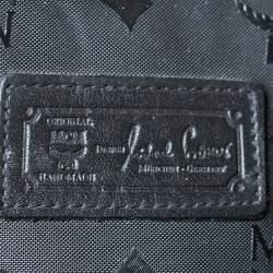 حقيبة يد إم سي إم شوبر كبيرة نايلون فيستوس أسود