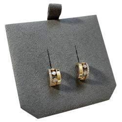 Messika 18K Yellow Gold Diamond Move Romane Mini Hoop Earrings