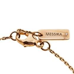 Messika Mini Joy XS Diamond 18K Rose Gold Bracelet