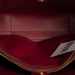 Michael Kors Rasperry Red Leather Mae Tote