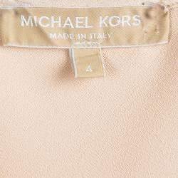 Michael Kors Beige Sleeveless Top S