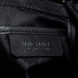 Michael Kors Black Leather Hamilton tote