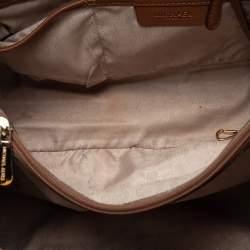 MICHAEL Michael Kors Tan Leather Jet Set Travel Tote