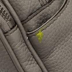 حقيبة ظهر مايكل كورس أبي جلد رصاصي