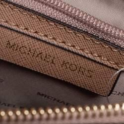 Michael Kors Burgundy Leather Mercer Tote