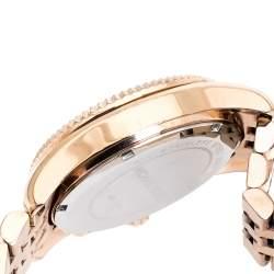 Michael Kors Rose Gold Plated Steel Lexington MK5569 Women's Wristwatch 38 mm