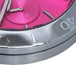 Michael Kors Pink Stainless Steel Wyatt MK6170 Women's Wristwatch 40 mm