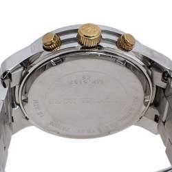 Michael Kors Yellow Gold Two Tone-Stainless Steel Runway MK5137 Women's Wristwatch 38 mm