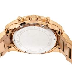 Michael Kors Rose Gold Tone Stainless Steel Blair Chronograph MK5263 Women's Wristwatch 39 mm