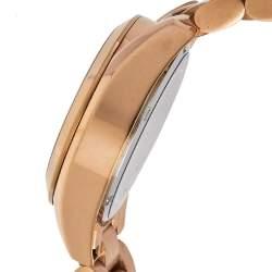 """ساعة يد نسائية مايكل كورس """"برادشاو كرونوغراف إم كيه5799"""" ستانلس ستيل ذو لون ذهبي وردي 36 مم"""