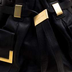 Michael Michael Kors Black Leather Tote