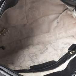 MICHAEL Michael Kors Black Leather Hamilton Tote