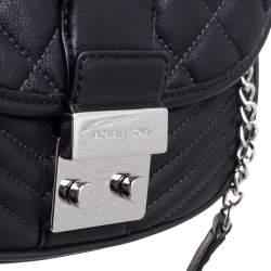 MICHAEL Michael Kors Black Quilted Leather Sloan Shoulder Bag