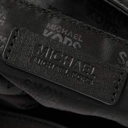 MICHAEL Michael Kors Black Signature Canvas and Leather Millbrook Hobo