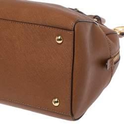 Michael Michael Kors Brown Leather Small Satchel