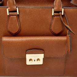 MICHAEL Michael Kors Brown Leather Bridgette Tote