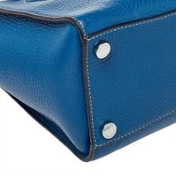 MICHAEL Michael Kors Blue Leather Medium Selby Tote