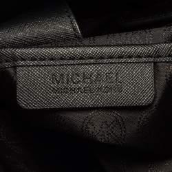MICHAEL Michael Kors Black Leather Hamilton North South Tote