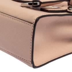 MICHAEL Michael Kors Pink Saffiano Leather Mini Dillon Tote