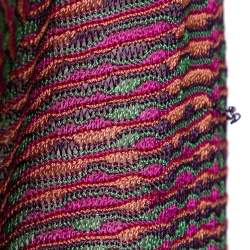 Missoni Multicolor Knit Long Sleeve Top M