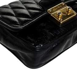 Miu Miu Black Leather Crossbody Bag