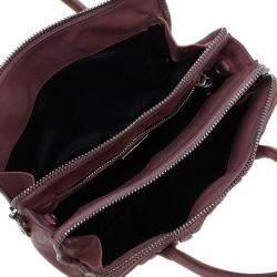 Miu Miu Pink Matelasse Leather Top Handle Bag