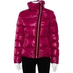 Moncler Purple Synthetic Puffer Down Ilay Jacket S