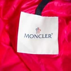 Moncler Pink Tweed & Synthetic Prune Jacket S
