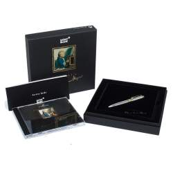 Montblanc Meisterstuck Solitaire Hommage Wolfgang Amadeus Mozart Two-Tone Sterling Silver Diamond Ballpoint Pen