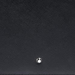 Montblanc Black Leather Sartorial Zip Notepad