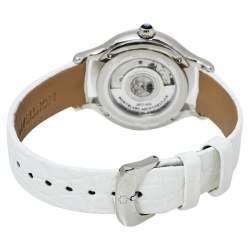 Montblanc MOP Stainless Steel Diamonds Princess Grace De Monaco Women's Wristwatch 34 mm