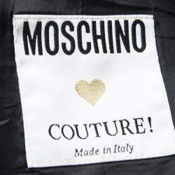 Moschino Couture Black Sleeveless Crop Top M