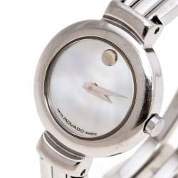 Movado Mother of Pearl Stainless Steel Harmony 84.A1.809.A Women's Wristwatch 23 mm