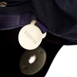 Mulberry Purple Leather Alexa Shoulder Bag