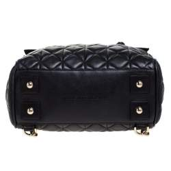 Mulberry Black Quilted Leather Cara Delevingne Convertible Bag