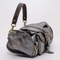 Mulberry Pewter Emmy Shoulder Bag