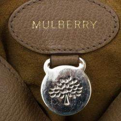Mulberry Tan Leather Small Lily Shoulder Bag