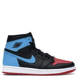 Nike Jordan 1 Unc/Chicago Leather Sneakers Size 36.5