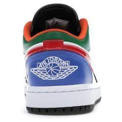 Nike Jordan 1 Low Multi Black Toe Size 36 US 5.5W