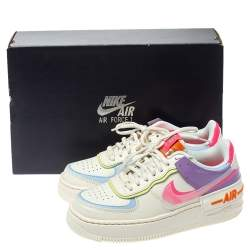 Nike WMNS Air Force 1 Shadow Pale Ivory/Digital Pink Sneakers Size 37.5