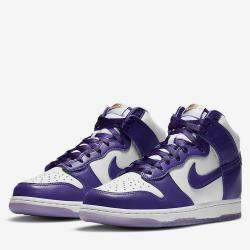 Nike Dunk High Varsity Purple Sneakers US Size 10W EU Size 42