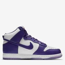 Nike Dunk High Varsity Purple Sneakers US Size 10.5W EU Size 42.5