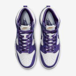 Nike Dunk High Varsity Purple Sneakers US Size 11W EU Size 43