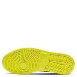 Nike Jordan 1 Mid SE Voltage Yellow Sneakers US 8W EU 39