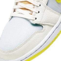 Nike Jordan 1 Mid SE Voltage Yellow Sneakers US 8.5W EU 40