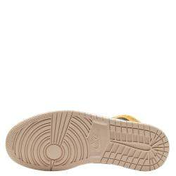 Nike Jordan 1 Mid Particle Beige Sneakers Size (US 6.5W) EU 37.5