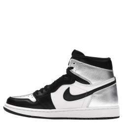 Nike Jordan 1 Silver Toe Sneakers Size (US 10.5W) EU 42.5