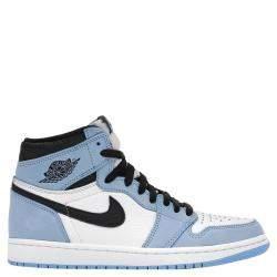 Nike Jordan 1 University Blue Sneakers Size (US 6Y) EU 38.5