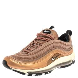Nike Metallic Gold/Purple Dessert Dust Air Max 97 Low Top Sneakers Size 42.5